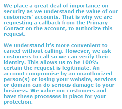 response from network solutions